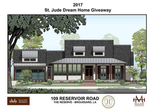 The 2017 St Jude Dream Home Was Built In Reserve Broussard La Is A New Development By Mclain Companies And Perfect Place For